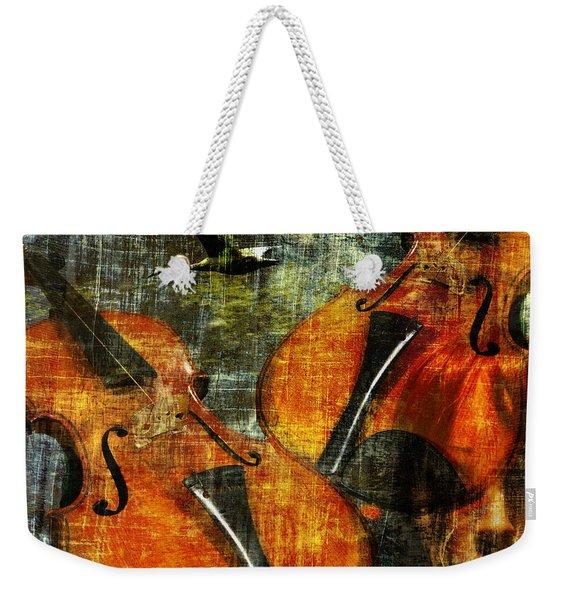 Only Music Heals A Broken Heart Weekender Tote Bag