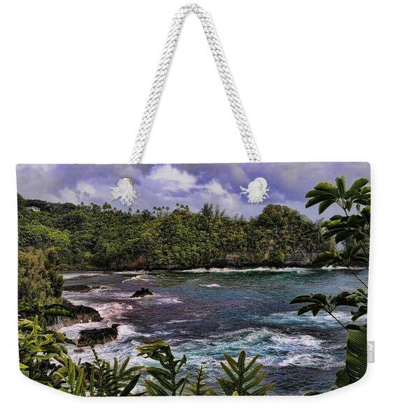 Onomea Bay Hawaii Weekender Tote Bag