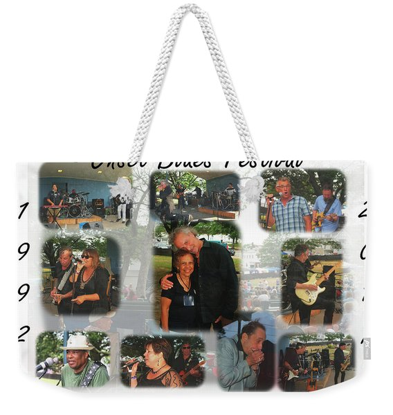 Onset Celebrates 25 Years Of Blues Weekender Tote Bag