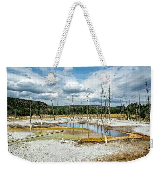 Opal Pool Weekender Tote Bag