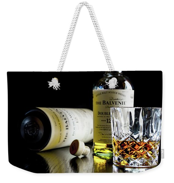 Open Balveine And Tube Weekender Tote Bag