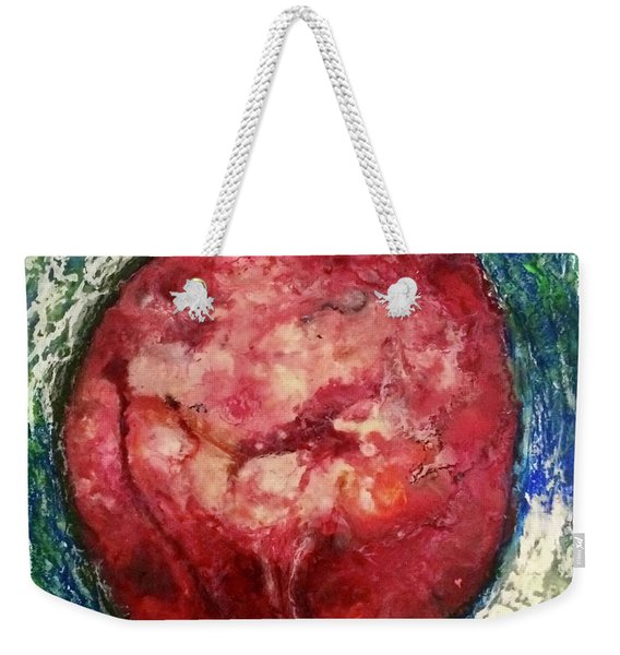 Open Hearted Weekender Tote Bag