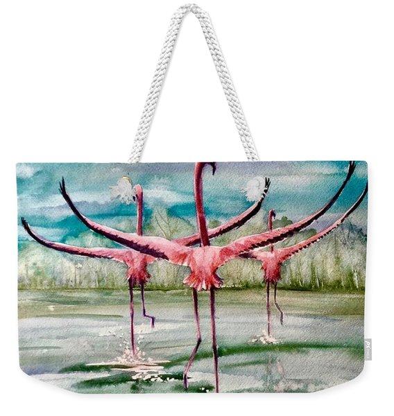 Open Horizon Weekender Tote Bag