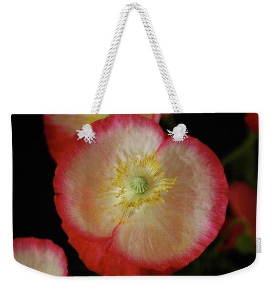 Open Poppy Weekender Tote Bag