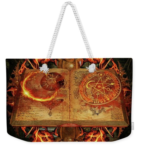 Open The Book Of The Occult Weekender Tote Bag