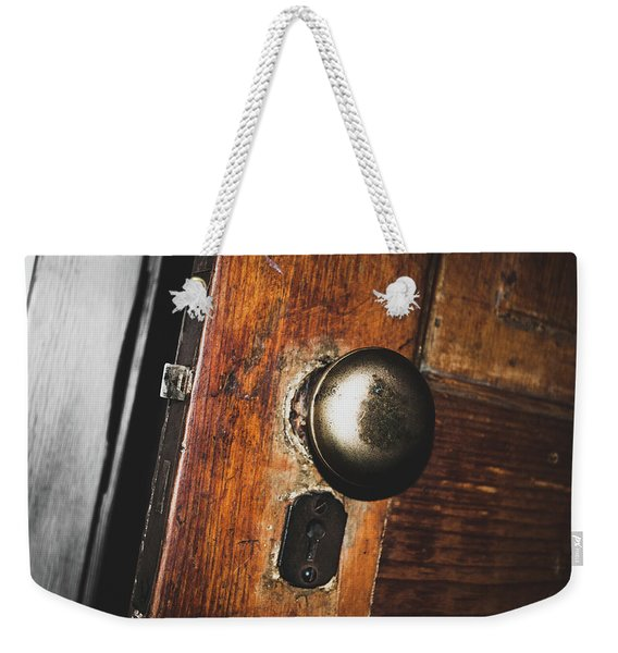 Open To The Past Weekender Tote Bag