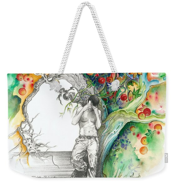 Open Your Eyes -the World Is Changing Weekender Tote Bag