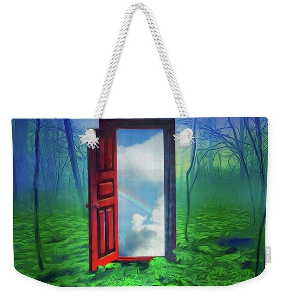 Opening Doors Weekender Tote Bag