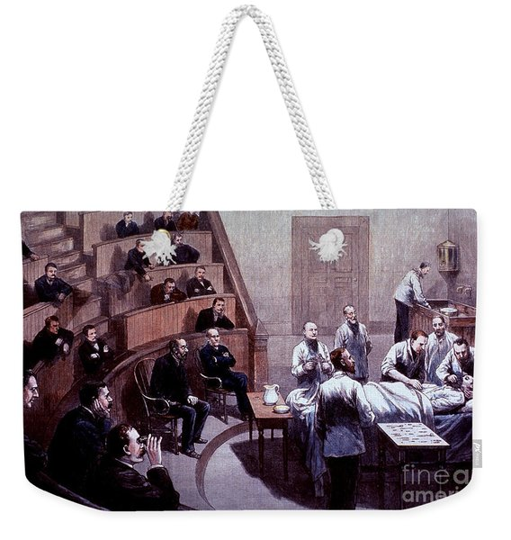 Operating Amphitheater, Administering Weekender Tote Bag
