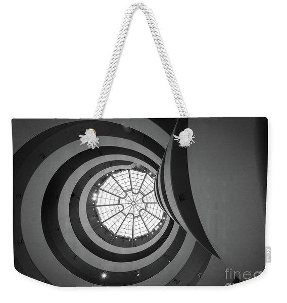 Opposing Circles Weekender Tote Bag