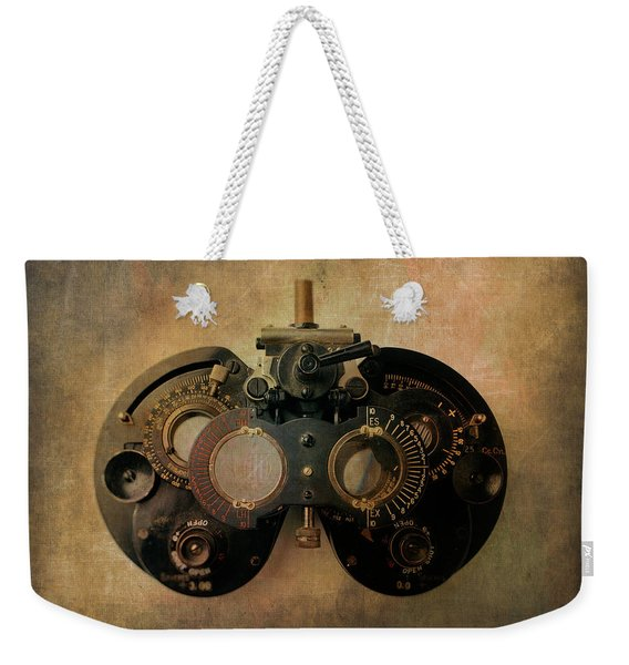 Optometrist Equipment Weekender Tote Bag