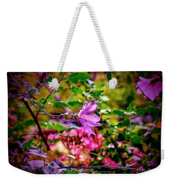 Opulent Lily Weekender Tote Bag
