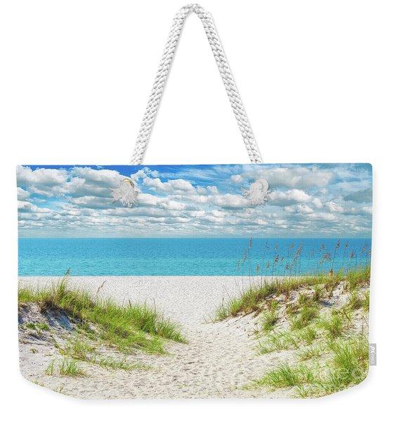 Orange Beach Al Seascape 1086a Weekender Tote Bag