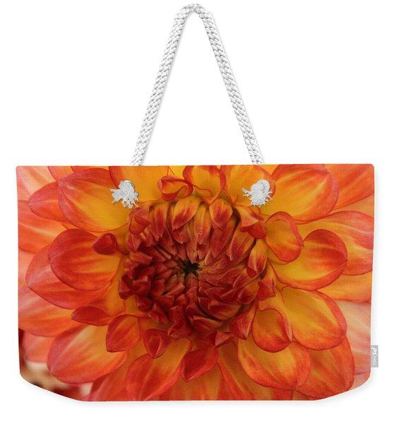 Orange Bright Weekender Tote Bag