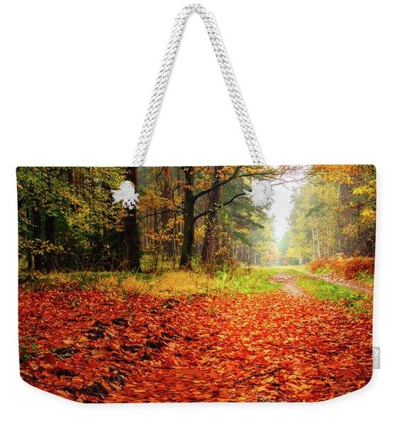 Orange Carpet Weekender Tote Bag