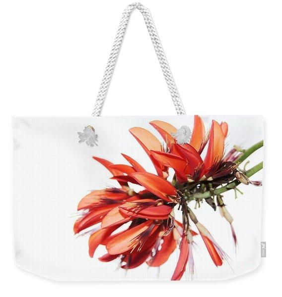 Orange Clover I Weekender Tote Bag