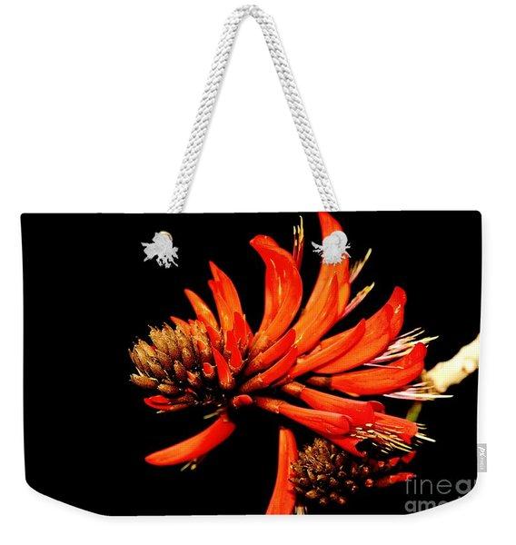 Orange Clover II Weekender Tote Bag