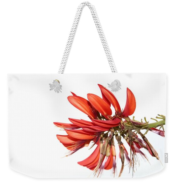 Orange Clover IIi Weekender Tote Bag
