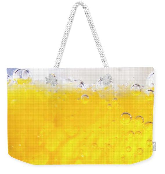 Orange Cocktail Glass Weekender Tote Bag