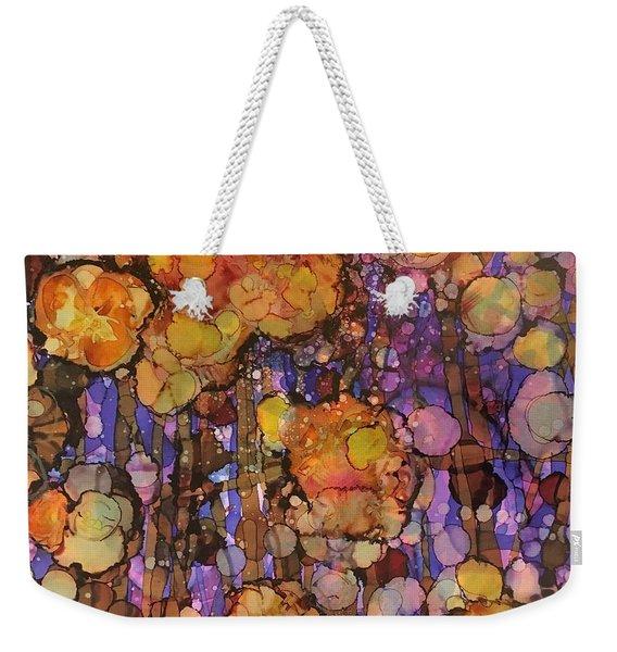 Passion Poppies Weekender Tote Bag