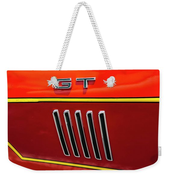 Orange Gt Weekender Tote Bag