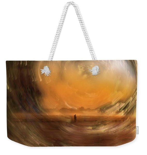Orange Gust Weekender Tote Bag
