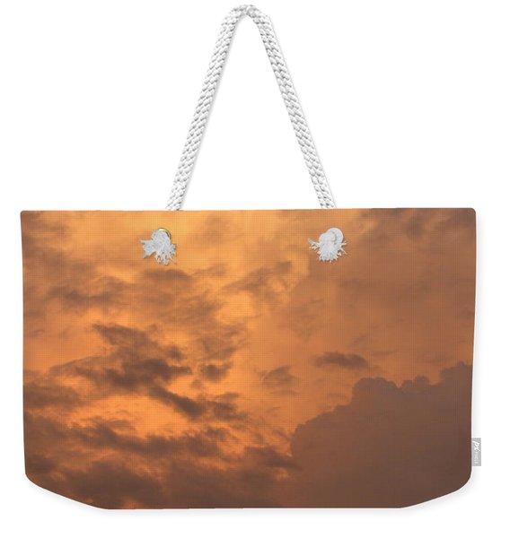 Orange Hue Weekender Tote Bag