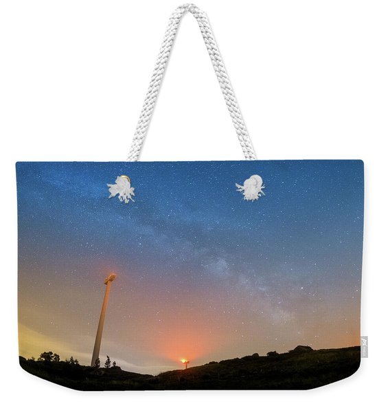 Orange Is The New Sky Weekender Tote Bag