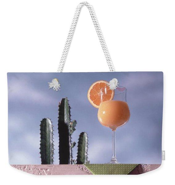 Orange Juice Weekender Tote Bag