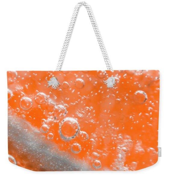 Orange Martini Cocktail Weekender Tote Bag