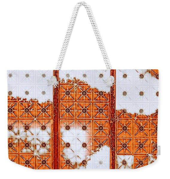 Orange Scented Bleach Weekender Tote Bag