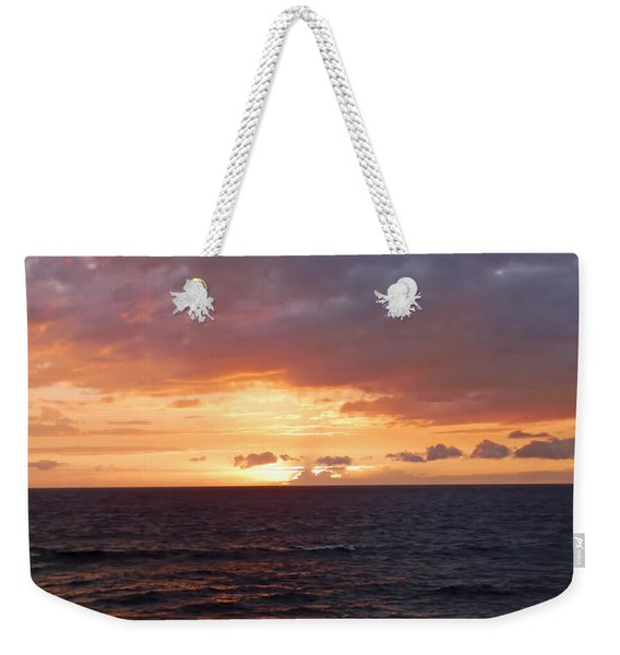 Orange Sky Weekender Tote Bag