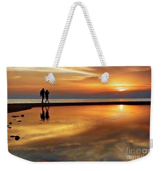 Orange Sunset   Weekender Tote Bag