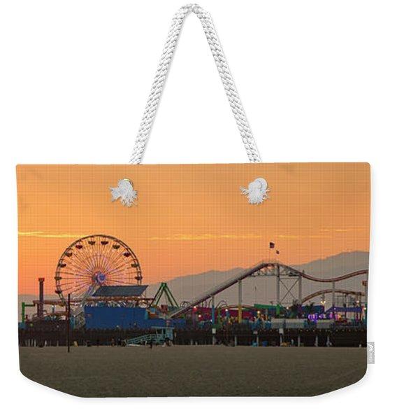 Orange Sunset - Panorama Weekender Tote Bag