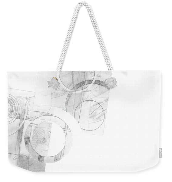 Orbit No. 4 Weekender Tote Bag