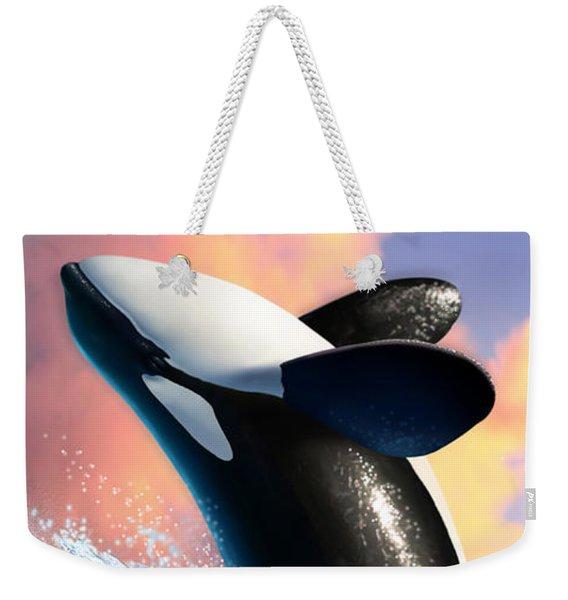Orca 1 Weekender Tote Bag
