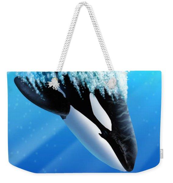 Orca 2 Weekender Tote Bag