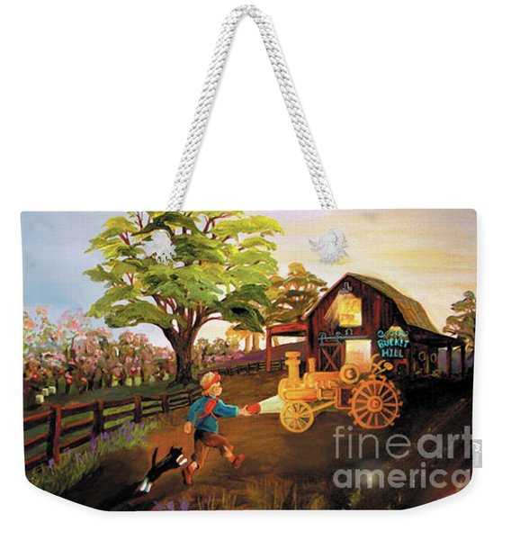 Orchard And Barn Weekender Tote Bag