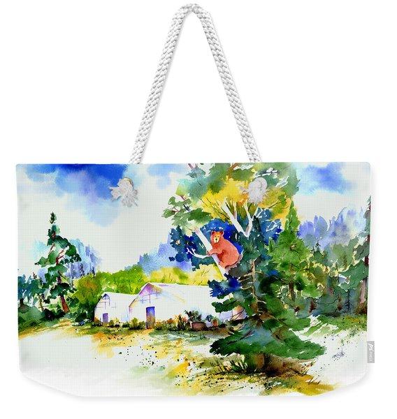 Orchard Springs Bear Weekender Tote Bag