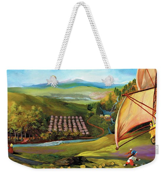 Orchard Valley Weekender Tote Bag