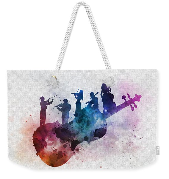 Orchestra Weekender Tote Bag