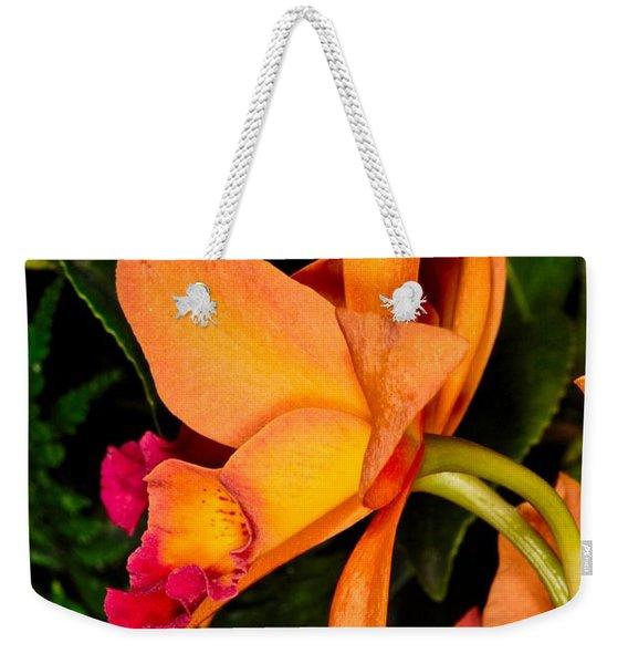 Orchid 355 Weekender Tote Bag