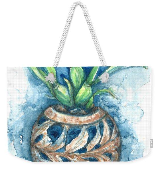 Orchid And Barnacle Weekender Tote Bag