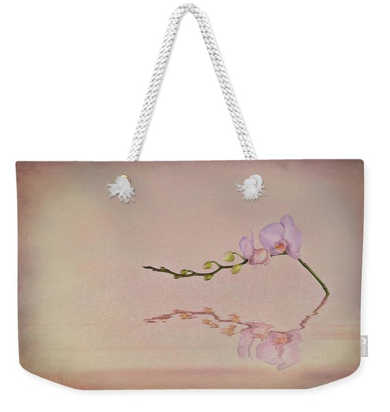 Orchid Blooms And Buds Weekender Tote Bag