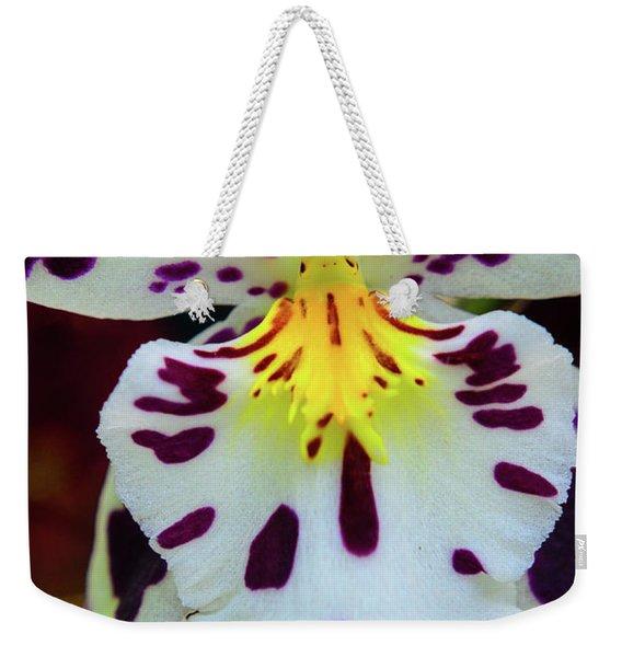 Orchid Cross Weekender Tote Bag