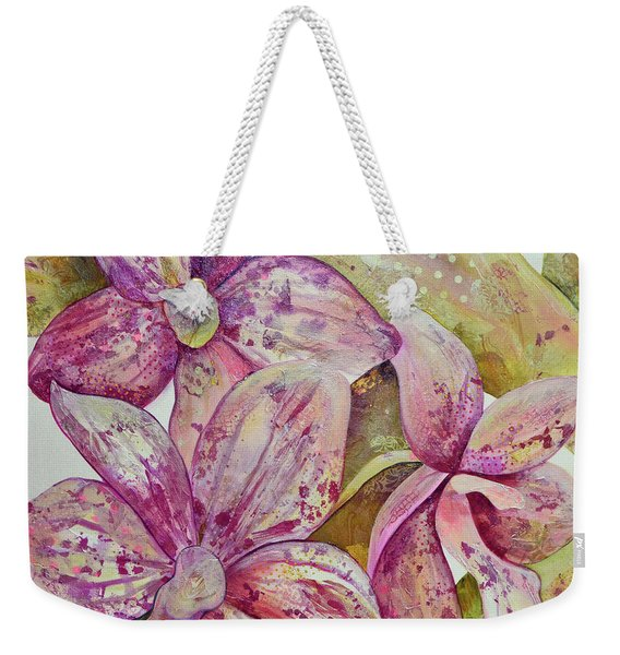 Orchid Envy Weekender Tote Bag