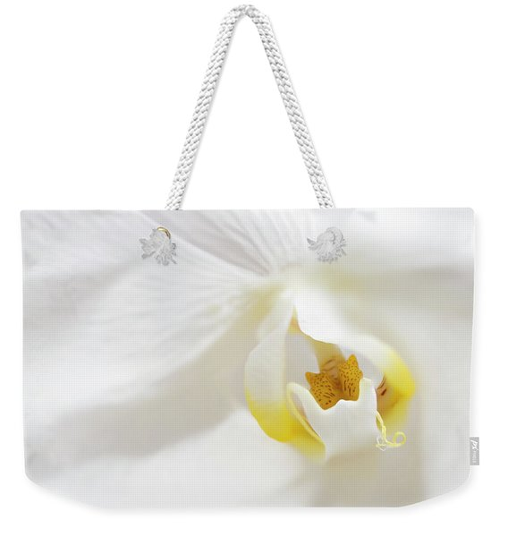 Orchid Flower Close Up Weekender Tote Bag
