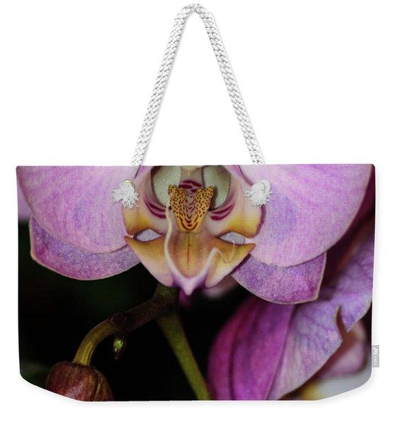 Orchid Life Weekender Tote Bag