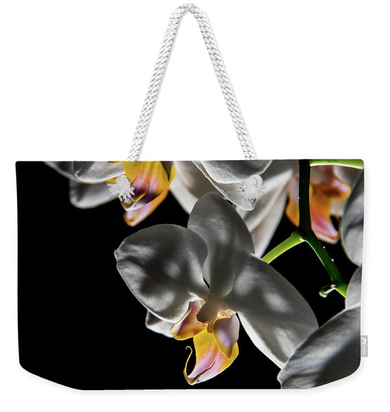 Orchid On Fire Weekender Tote Bag