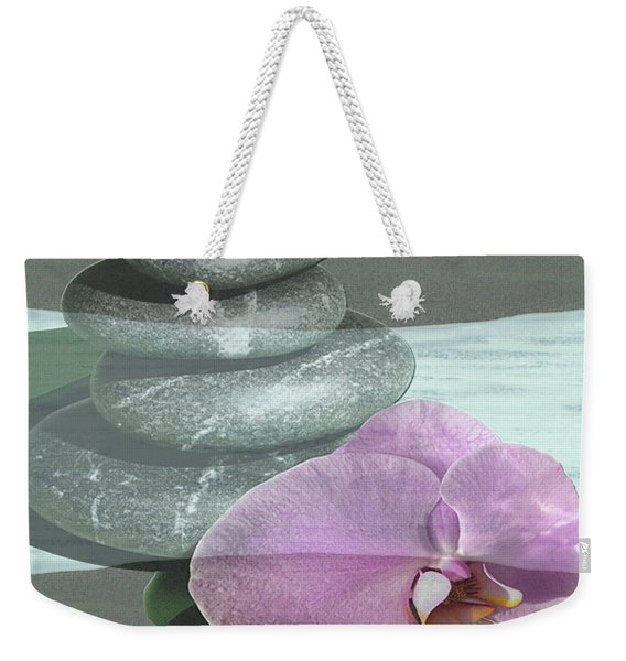 Orchid Tranquility Weekender Tote Bag